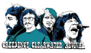 Mi música favorita. CREEDENCE CLEARWATER REVIVAL