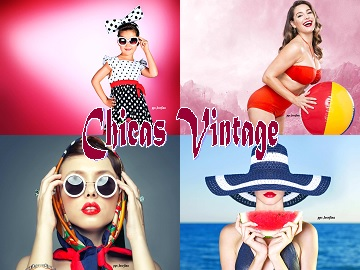 CHICAS VINTAGE